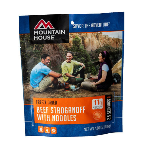 Mountain House Beef Stroganoff with Noodles 34600
