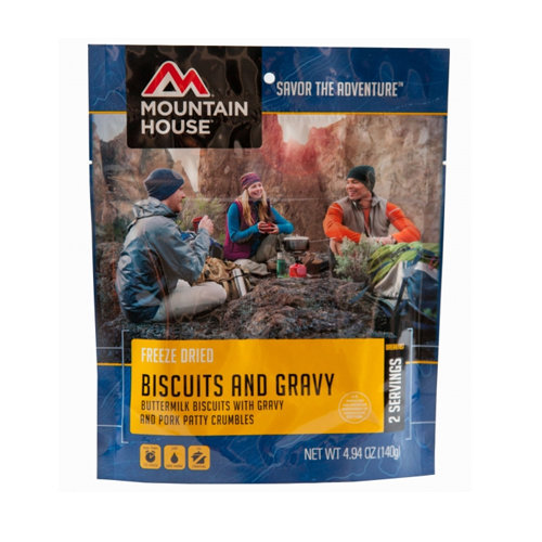 Mountain House Biscuits & Gravy 34602
