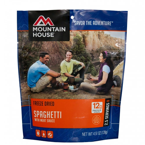 Mountain Spaghetti with Meat Sauce