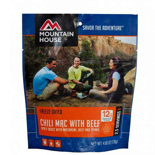 Mountain House Chili Mac with Beef 34605