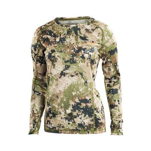 Sitka Women's Core Lightweight Crew LS Optifade Subalpine 34198