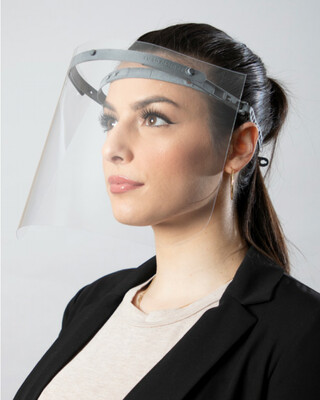 Reusable Faceshield Comes with Sterilizable Head piece and 3 replacements face guards