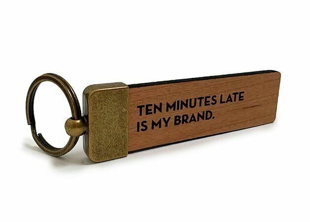 SG083 Ten Minutes Key Tag