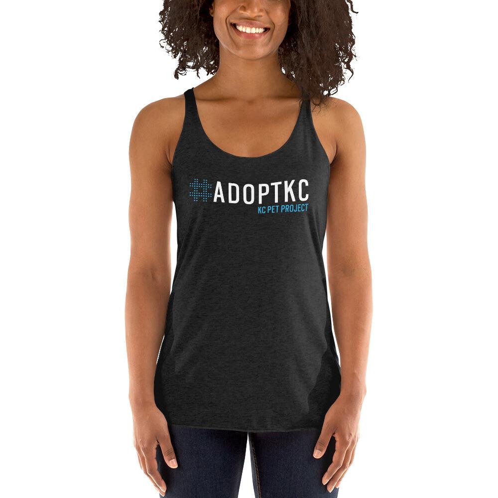 KCPP - #AdoptKC - Racerback Tank - Dark