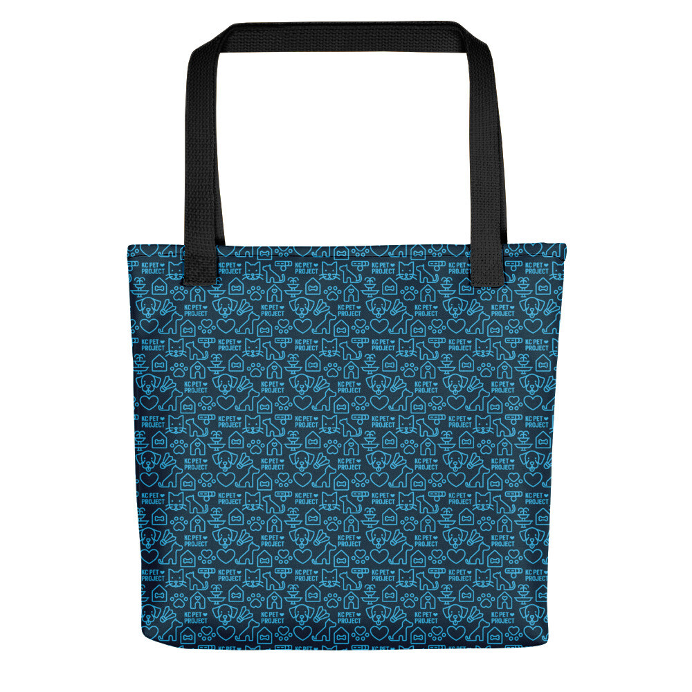 KC Pet Project - Navy Tote Bag