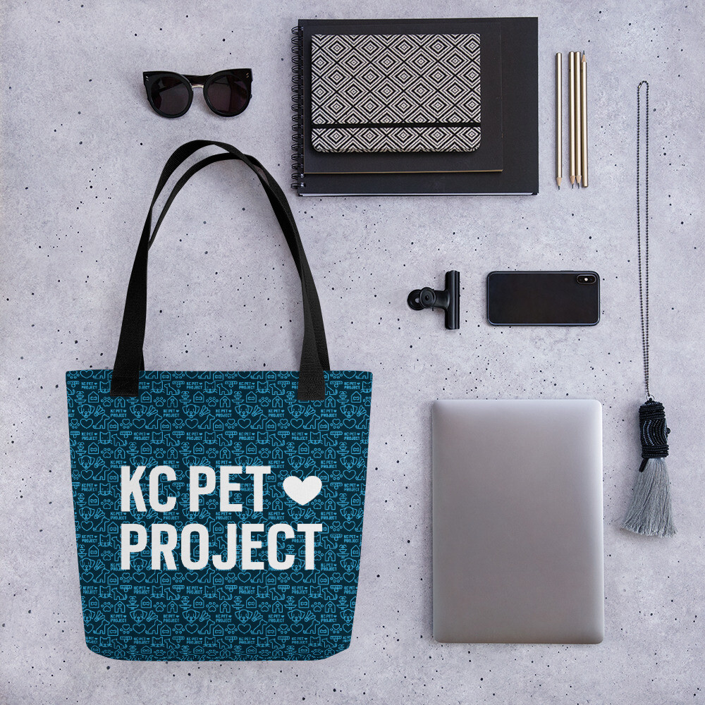 KC Pet Project - Tote Bag - Navy