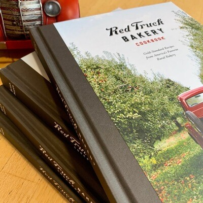 Red Truck Cookbook / signed