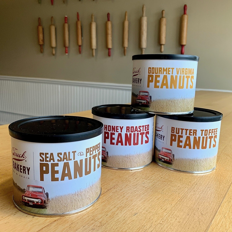 Nuts / sea salt pepper peanuts