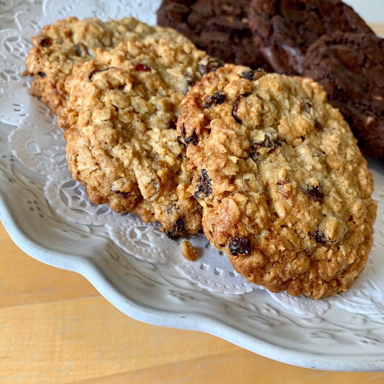Cookies / 3 oatmeal-cranberry