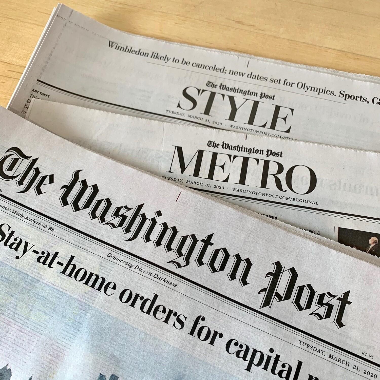 News / Wash Post weekdays