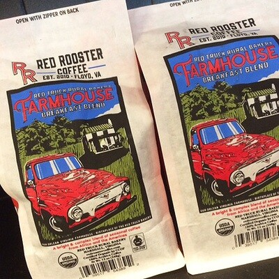 Red Truck Farmhouse breakfast blend coffee