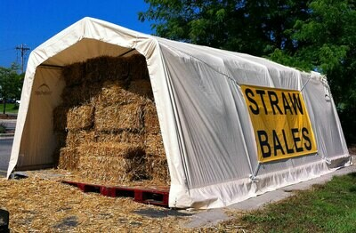 Straw Bale (single bale)