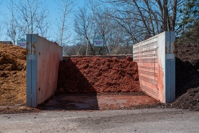 BULK - Red Mulch
