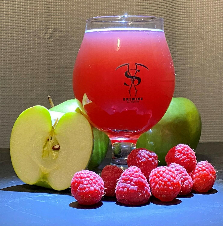 Red Raspberry Cider (32 oz)