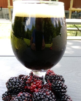 Blackberry Stout (64oz)