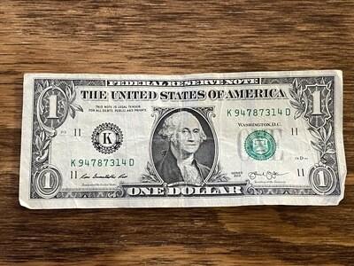 01-$1.00 Tip