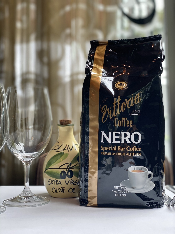 Vittoria Coffee - Nero Beans 1KG Bag