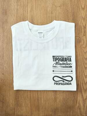 Maglietta TipA + Propaganda (Bianca)