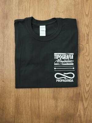 Maglietta TipA + Propaganda (Nera)