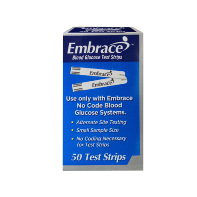 embrace glucose test strips. Embrace Glucose Test Strips (50 Count) F