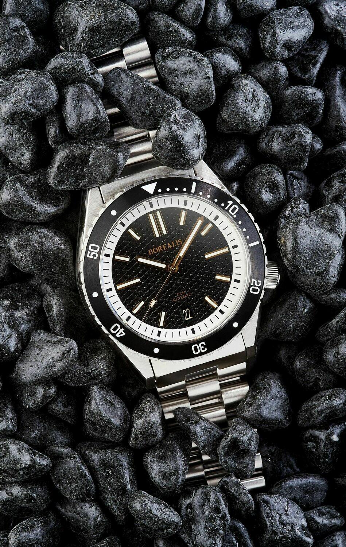 Pre-Order Deposit Borealis Olisipo Black BA1 Date Miyota 9015