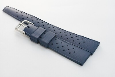 Borealis Vulcanized Tropic Style Strap 20mm Boavista Blue - Best Offer in Market for Diver Watches