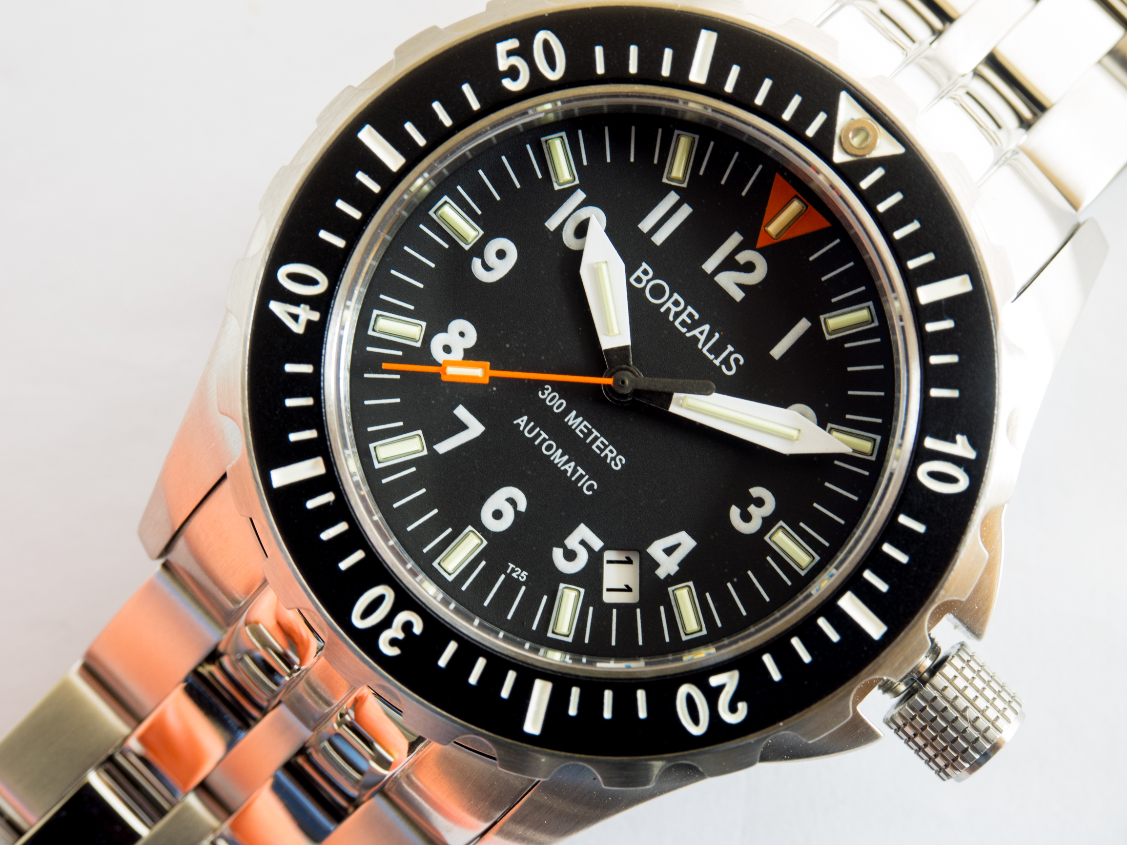 Borealis Scout Sniper 300m Automatic NH35 Movement Diver Watch with T25 Tritium MB-MicroTech Tubes BDWSSNH35