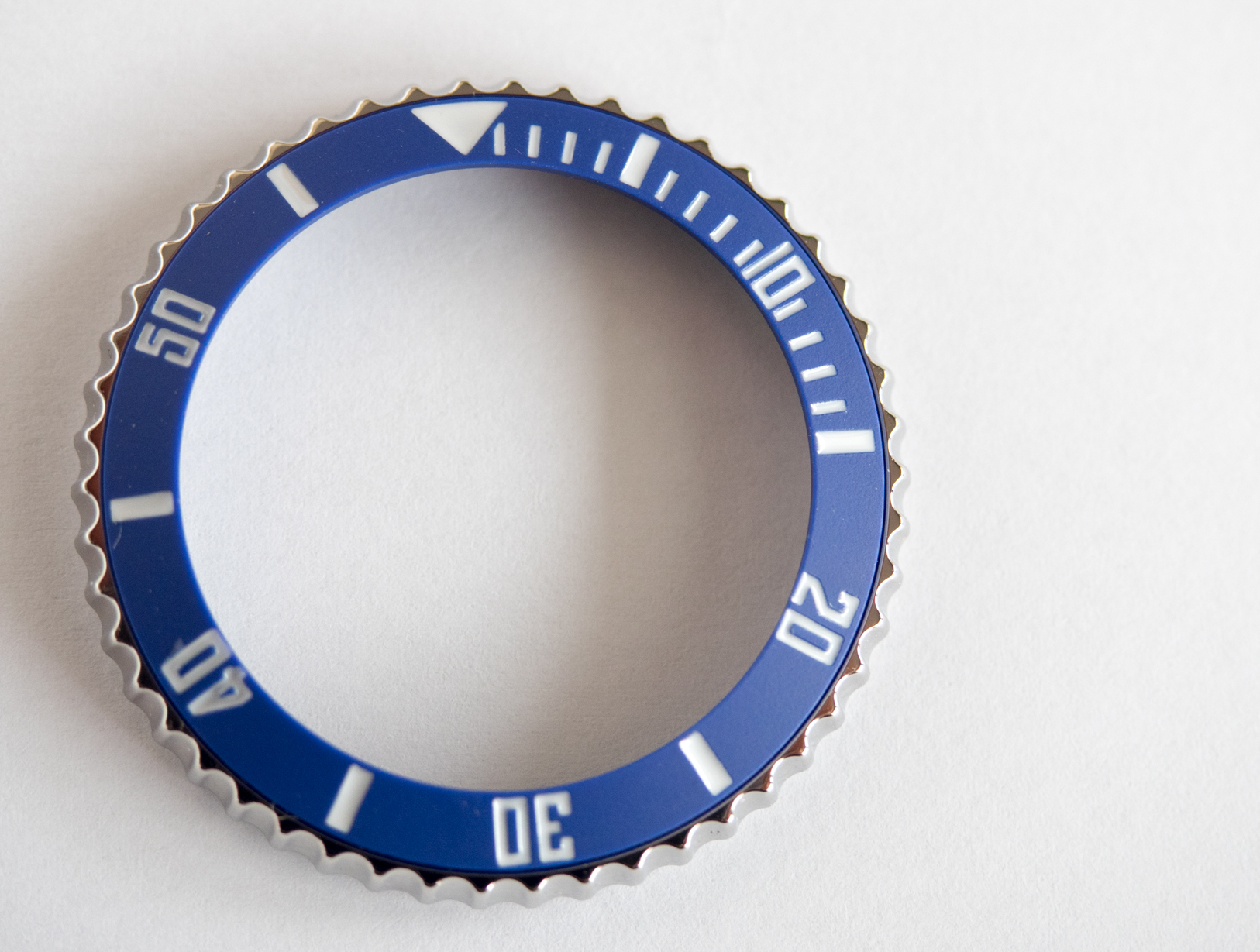 Borealis Blue Ceramic Bezel Insert for Sea Hawk 1500m
