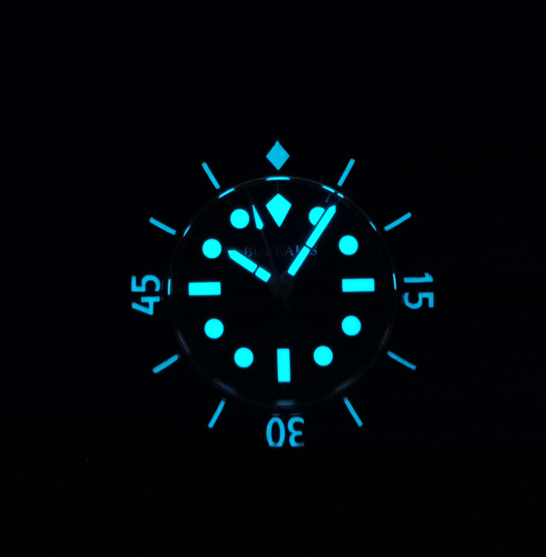 Borealis Sea Storm Version A1 Date BGW9 Lume