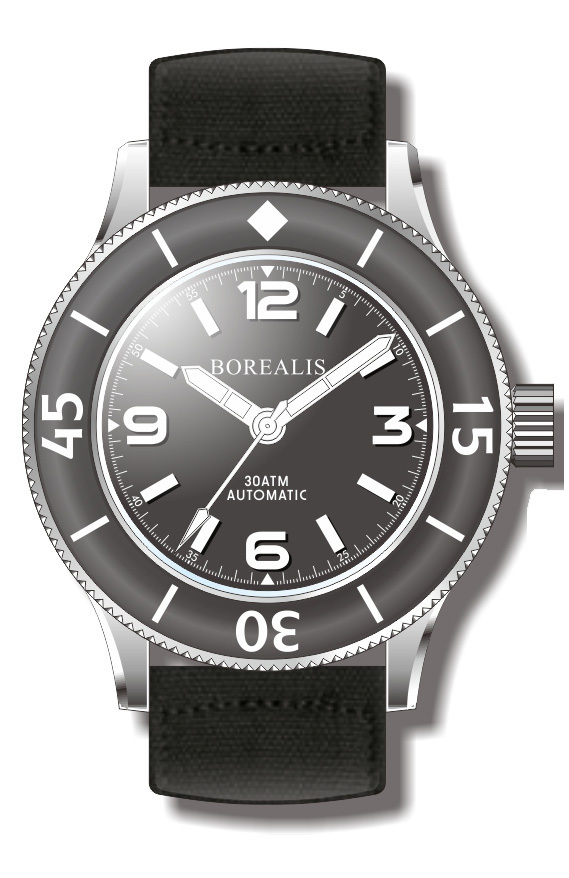 Borealis Sea Storm Version B No Date BGW9 Lume