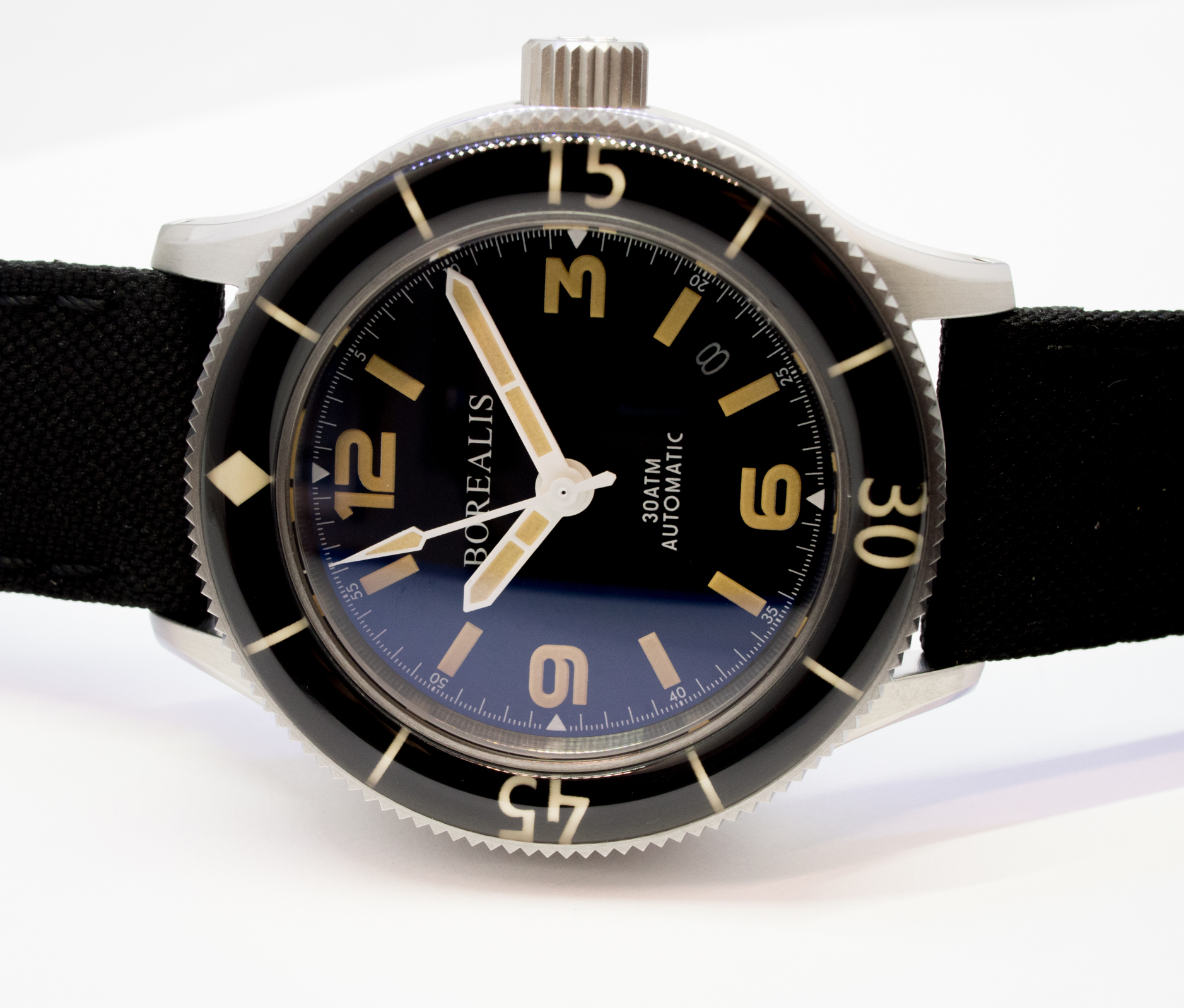 Borealis Sea Storm Version B No Date Old Radium Lume