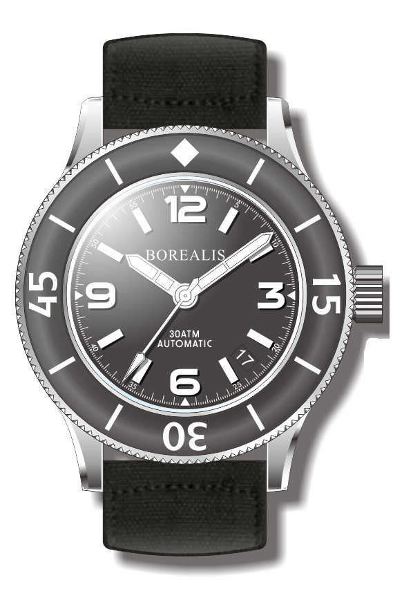 Borealis Sea Storm Version B1 Date BGW9 Lume