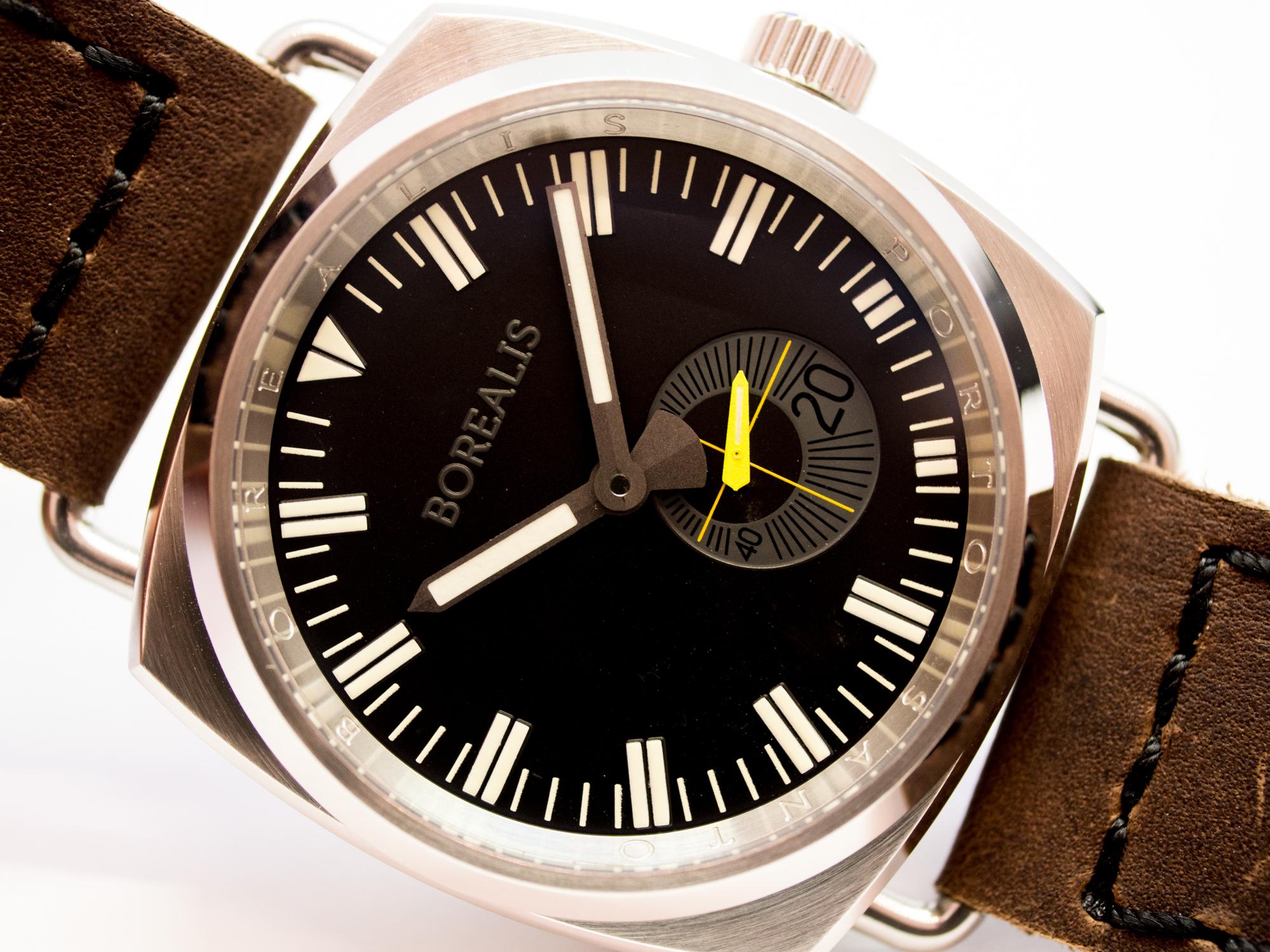 Borealis Porto Santo Automatic Diver Watch Black Dial C3 Lume Miyota 8128