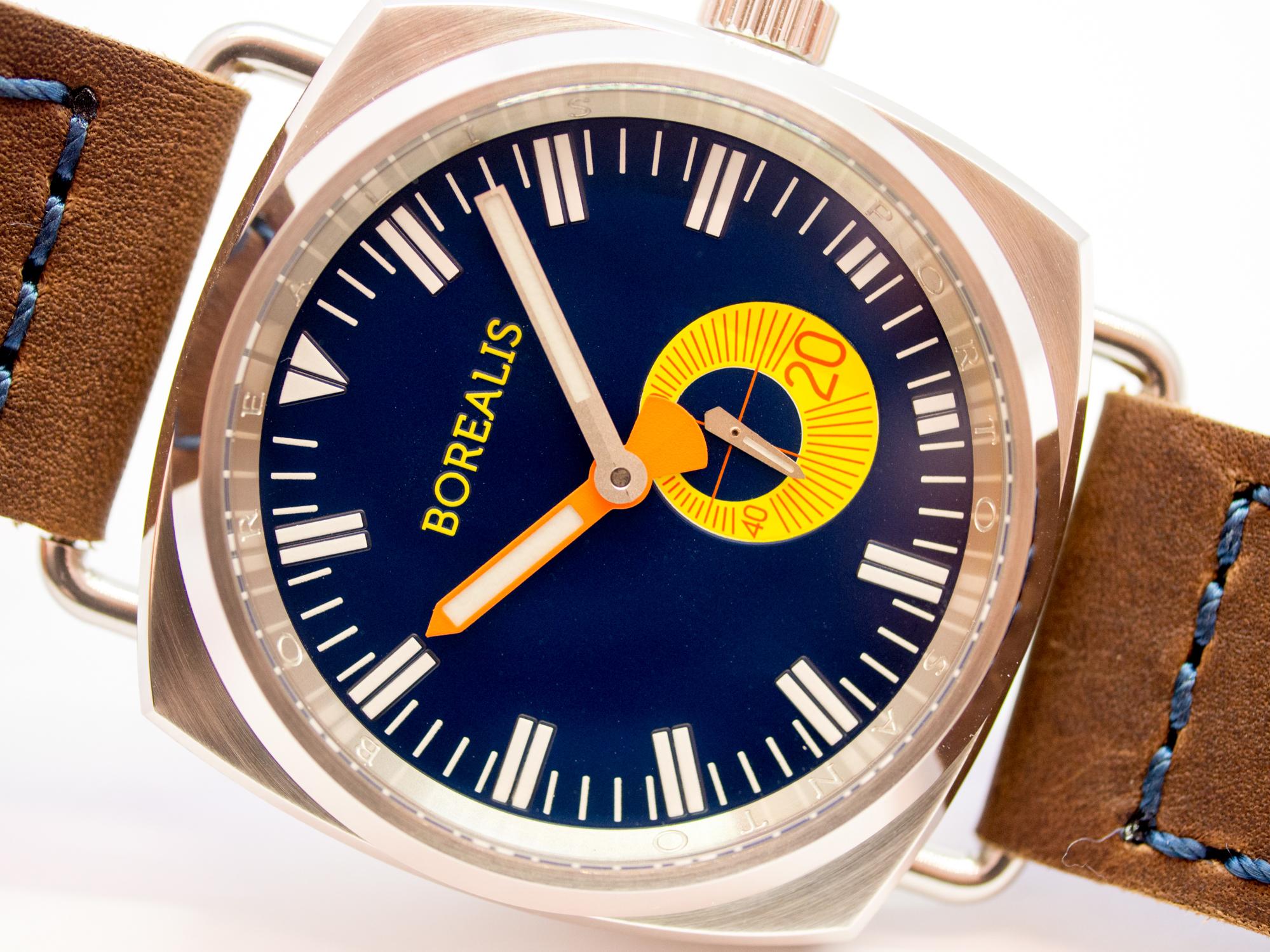 Borealis Porto Santo Automatic Diver Watch Blue Dial BGW9 Lume Miyota 8218 BPSANTOBLUEBGW9