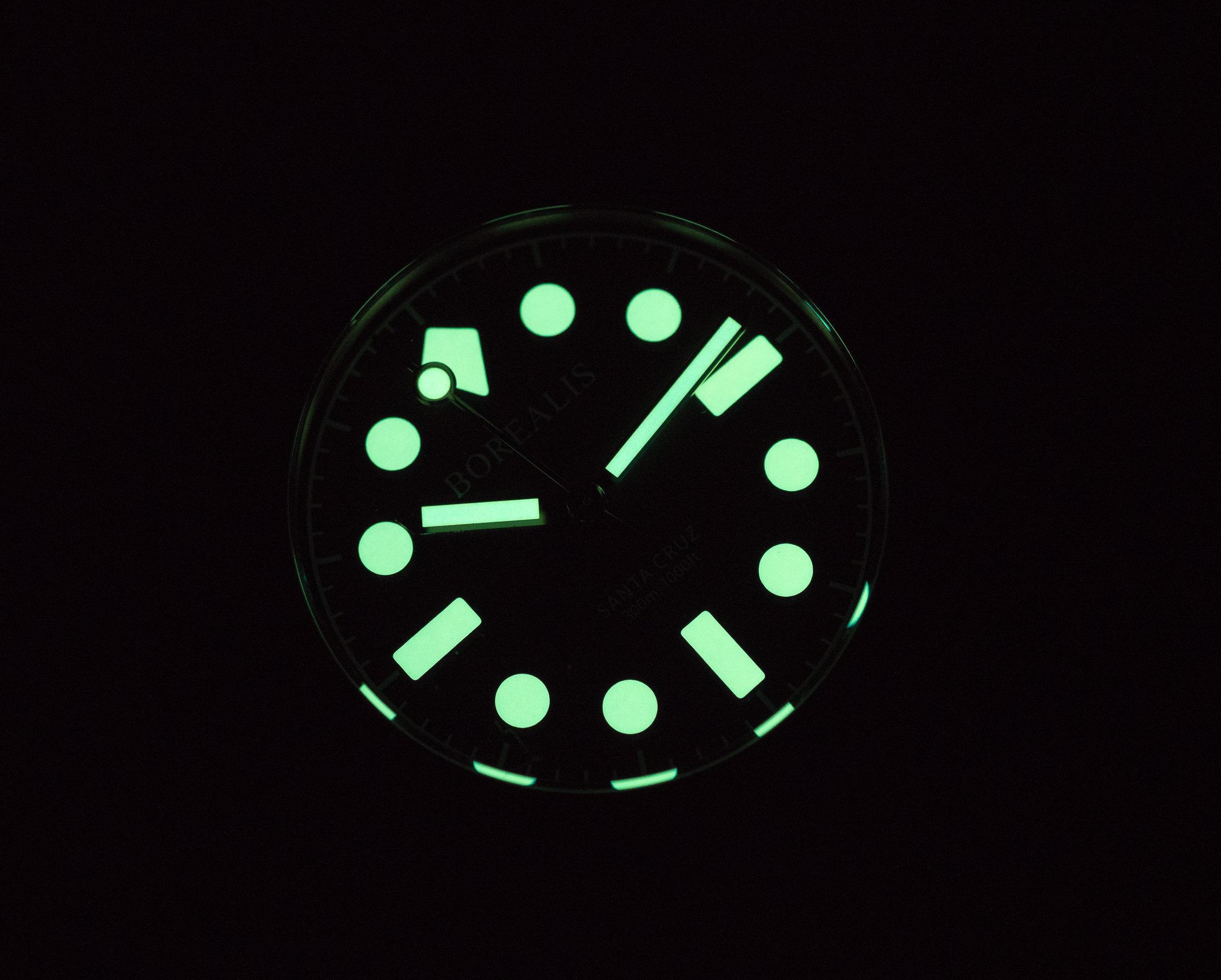PRE-ORDER Borealis Santa Cruz CuSn8 Bronze Diver Watch Automatic NH38 Movement Type B