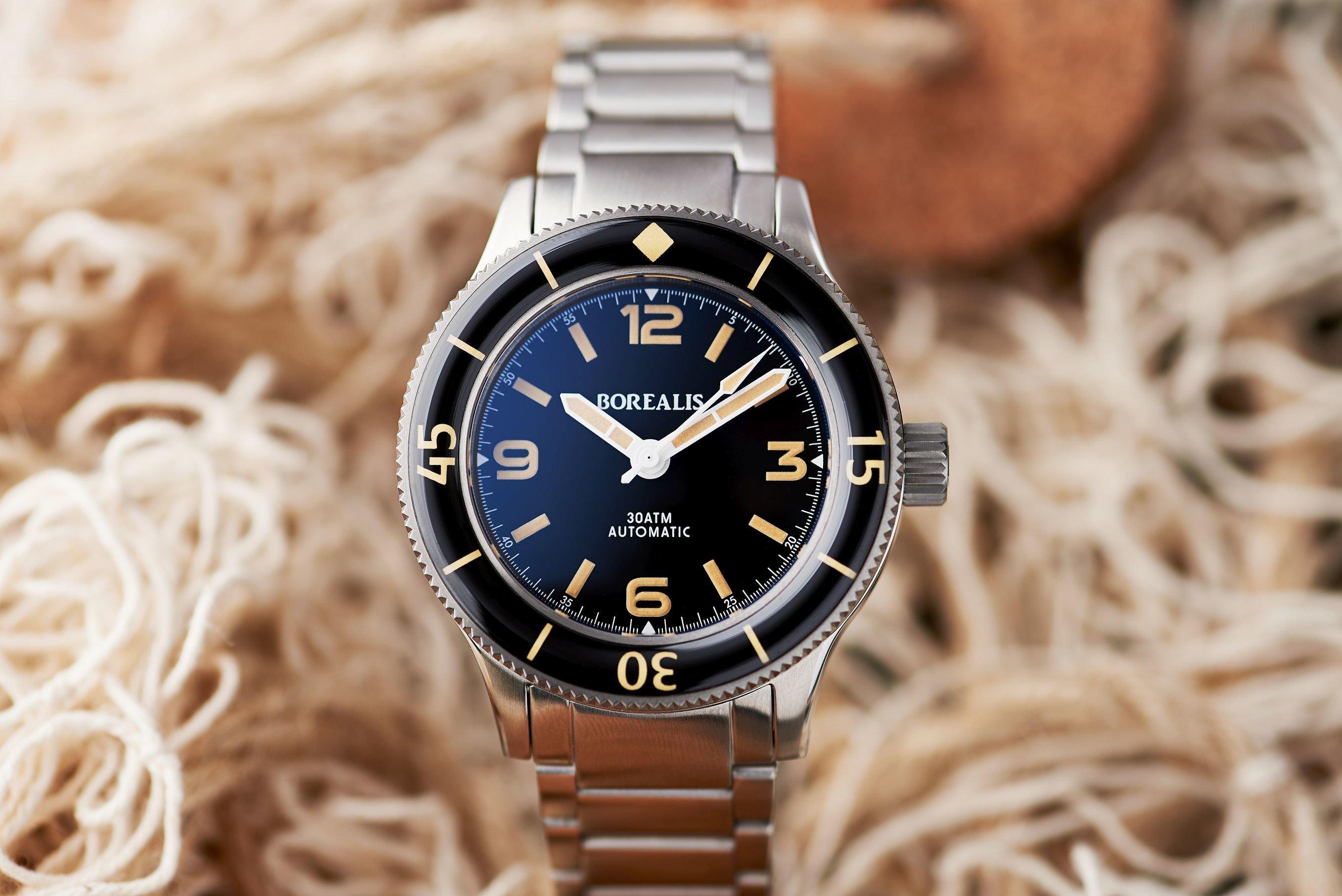 Pre-Order Borealis Sea Storm V2 Version A.B4 No Date Old Radium Lume