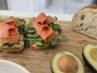Avocado and Smoked Salmon Toast