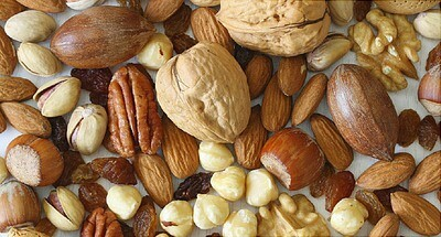Nuts, Honey and Dry Fruits