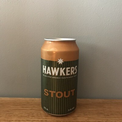 Hawker's Stout 5.4% (4 Pack)
