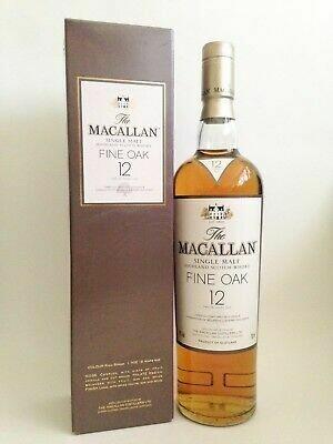 Macallan Fine Oak 12 Year Old, Old Bottling 40%