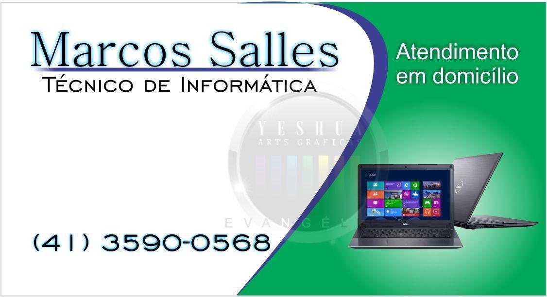 Modelo N342 Cartao De Visita Informatica Tecnicos Ti