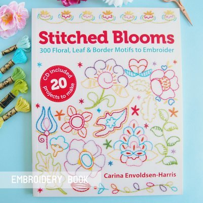 Stitched Blooms - Signed Copy