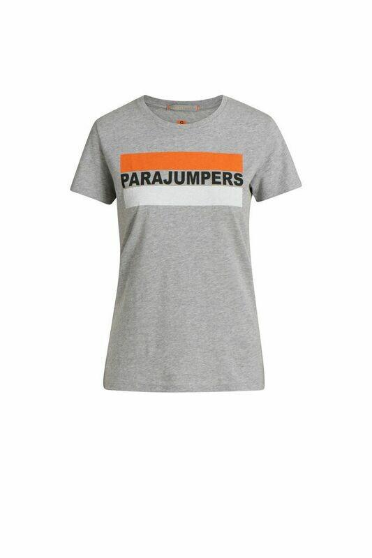 Parajumpers   T-Shirt Chiara - Steel Melange