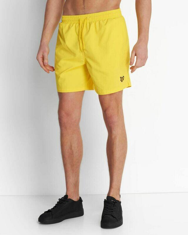 Lyle & Scott | Plain Swim Short - Buttercup Yellow