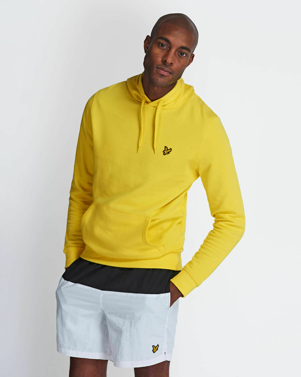 Lyle & Scott   Pullover Hoodie - Buttercup Yellow
