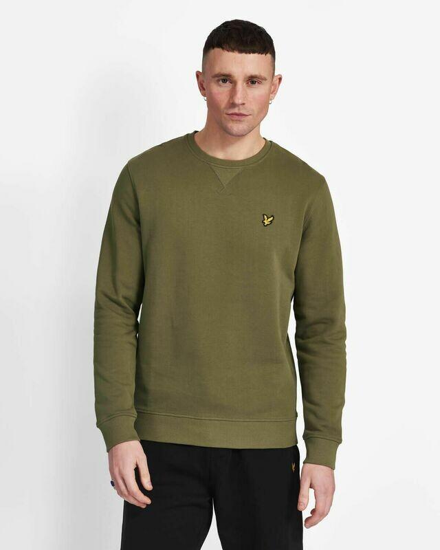 Lyle & Scott | Crew Neck Sweatshirt  - Lichen Green
