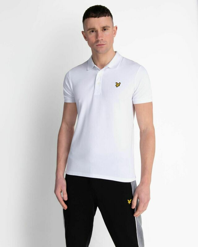 Lyle & Scott | Slim Stretch Polo Shirt - White
