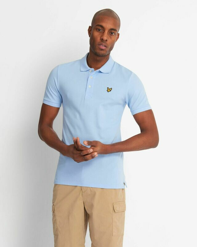 Lyle & Scott | Slim Stretch Polo Shirt - Pool Blue