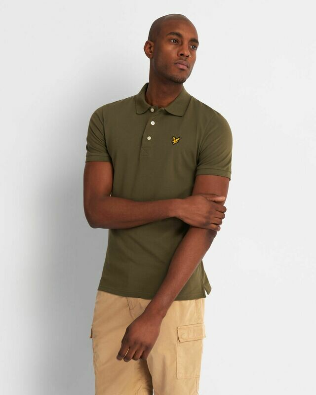 Lyle & Scott | Slim Stretch Polo Shirt - Lichen Green