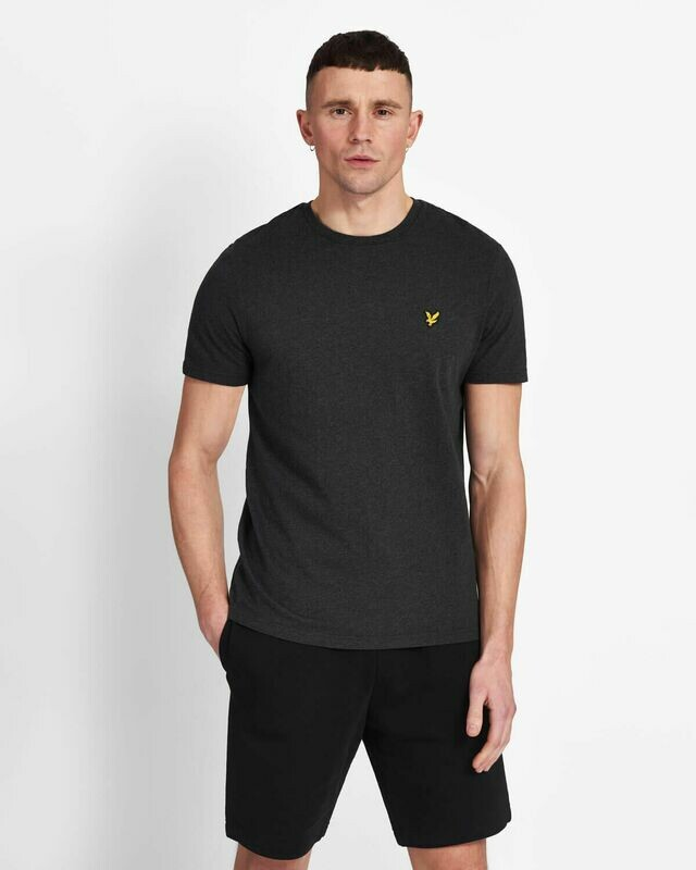 Lyle & Scott | Crew Neck T-Shirt - Charcoal Marl